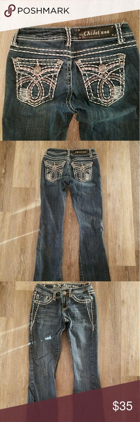 New LA Idol jeans New LA Idol jeans size 27 LAidol Jeans Boot Cut