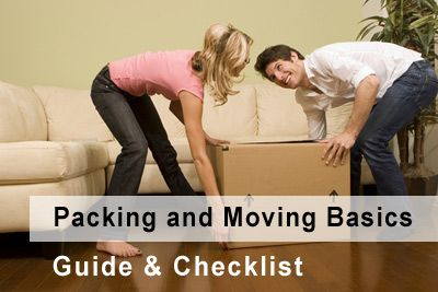 Basic Packing Guide & Moving Basics Checklist (this looks like it will come in handy one of these days)