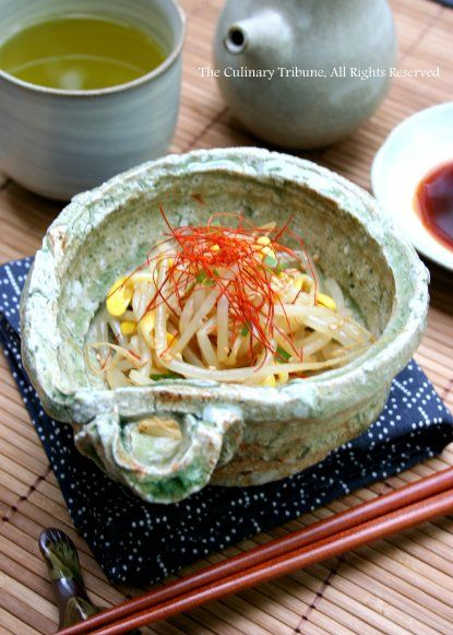 Spicy Soybean Sprouts 豆もやしのナムル