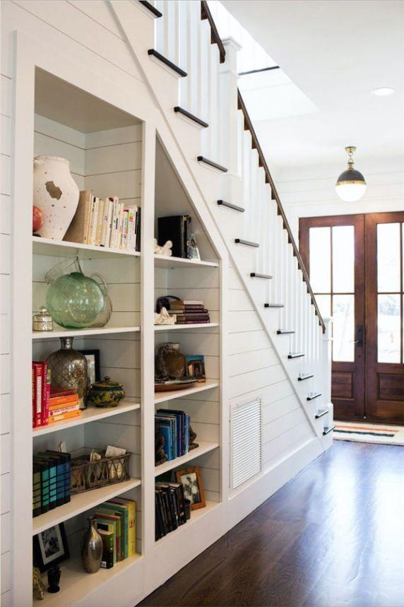 76 smart ideas for under stairs storage space home space under rh pinterest com