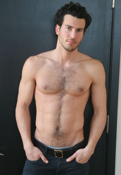 hot guy happy trail