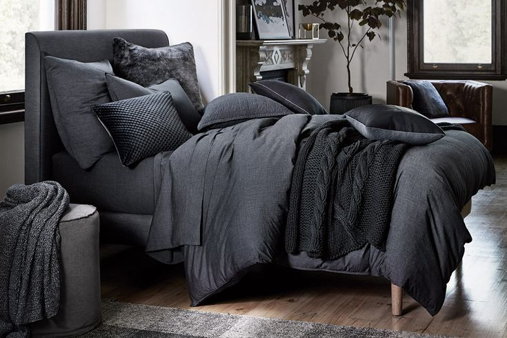Shop our Sheridan Reilly Quilt Cover Set in carbon. Sign in for free shipping Australia-wide.
