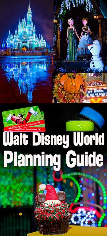 Everything to plan a trip to Walt Disney World, including seasonal tips for Halloween, Christmas, and beyond!
