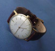 Herren Armbanduhr (STOWA 17 RUBIS  Antichoc Mechanisch Handaufzug) Bauhausstil