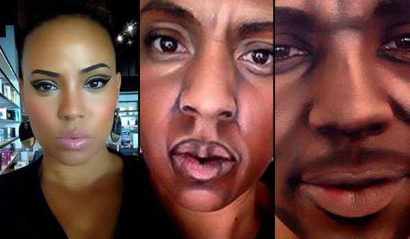 EpicBuzz This Woman Uses Make-Up To Turn Herself Into Male Celebrities! #Jayz, #Drake, Snoop etc.