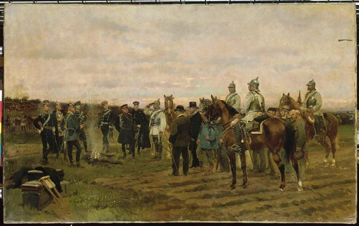 Les otages - Souvenir de la Campagne 1870-71