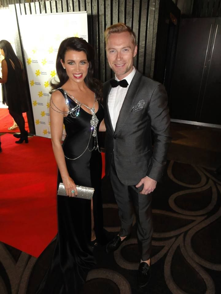 Dannii Minogue & Ronan Keating