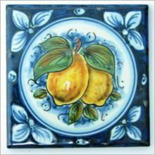 Mattonalla Piastrella in Ceramica di Caltagirone - Ceramiche Artistiche Agatino Caruso - Ceramica di Caltagirone