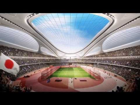 ▶ New National Stadium for Tokyo 2020 Summer Olympics [HD] - YouTube