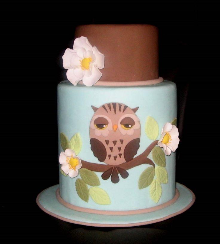 Owl Cake: Cakes Ideas, Desserts Ideas, Cakes Owl, Cages Cakes, Cakes Covers, Cakes Decor, Cakes Contest, Cutest Cakes, Owl Cakes