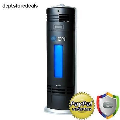 Ionic Air Purifier Fresh Cleaner Breeze Pro Ozone Filter UV-C Sanitizer Ionizer