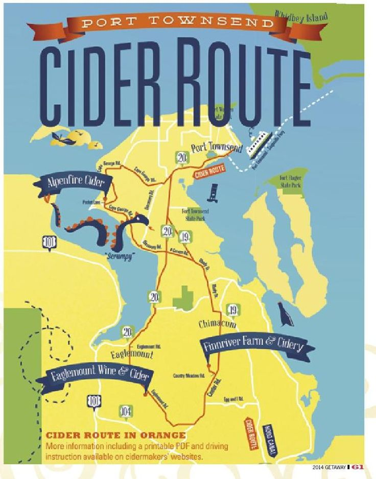 The Port Townsend WA Cider Route Eaglemount Wine & Cider, FinnRiver Farm & Cidery, and Alpenfire Cider #ClippedOnIssuu from Getaway Guide 2014
