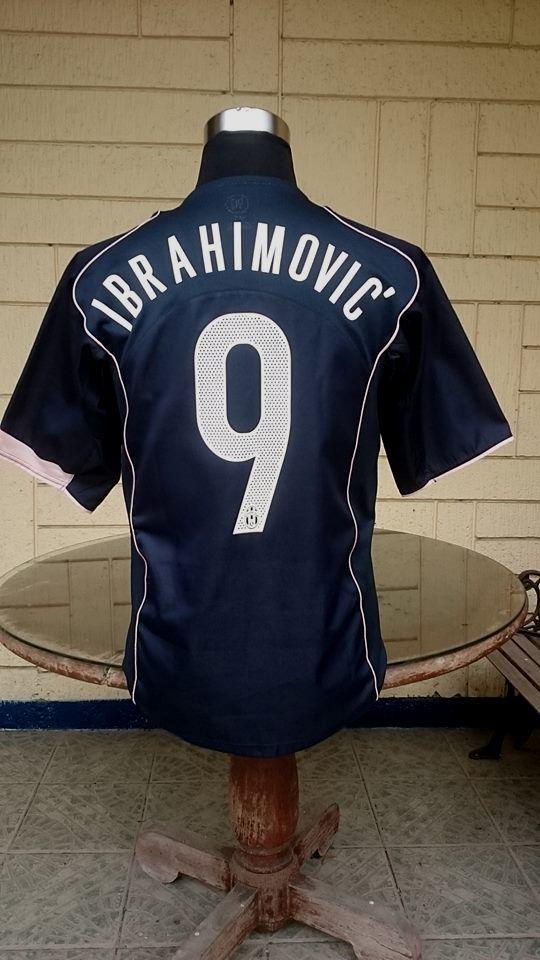 16061a6de3 JUVENTUS FC 2004-05 SERIE-A CHAMPION ZLATAN IBRAHIMOVIC 9 SHIRT NIKE JERSEY  MAGLIA CAMISETA MEDIUM