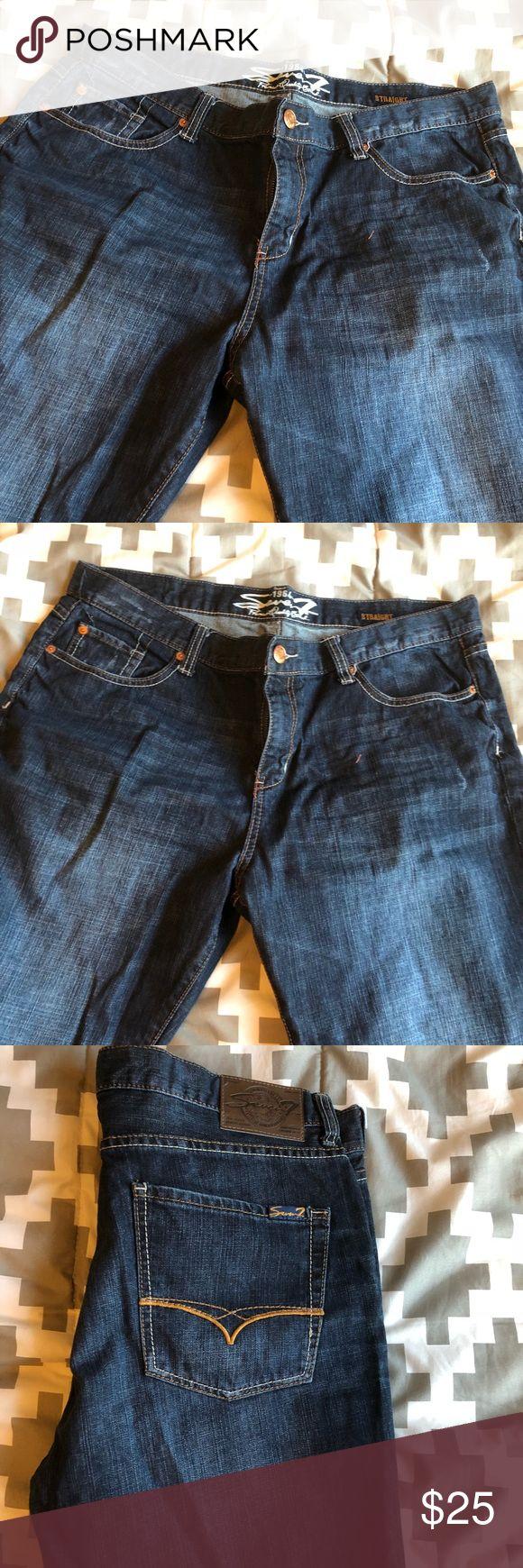 Seven jeans Men's Straight fit Seven jeans size 38/32 Jeans