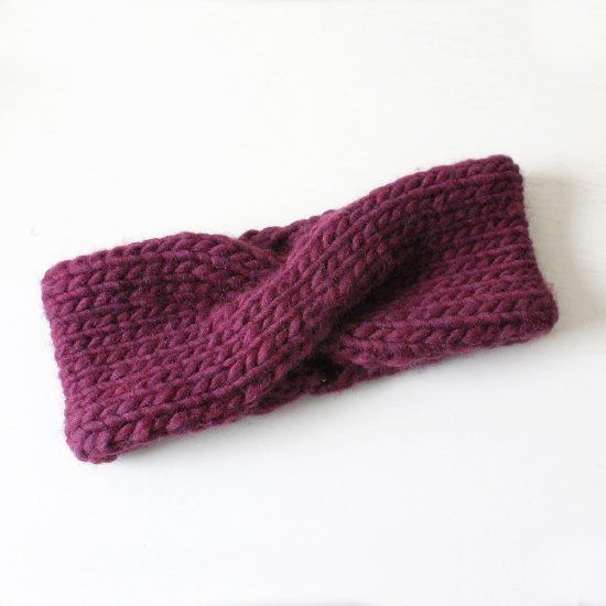 This is a super easy pattern for a knitted turban headband. Perfect for the chilly months ahead! thanks so xox