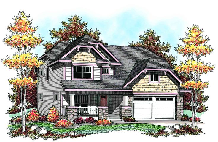 Craftsman with Guest Suite - 89702AH | 2nd Floor Master Suite, Bonus Room, Butler Walk-in Pantry, CAD Available, Craftsman, Northwest, PDF | Architectural Designs