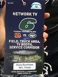 #Internships are the key to success in #sports broadcasting and Kara Burnham had one of the coolest one's imaginable...at #NFL Films. She tells us all about it: http://bit.ly/eH5rdw