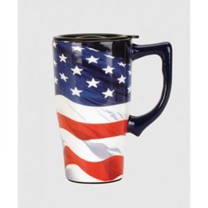 Picture of American Flag Travel Mug
