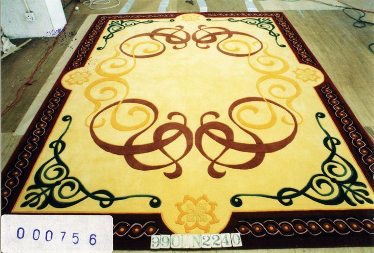 Hand-tufted rugs can withstand high traffic, and will begin to wear out after 12 to 20 years of use. High traffic areas include #hallways #family room and #entryway. Medium traffic areas include the #DiningRoom and #Home #Office. Low traffic areas include #Bedrooms and formal #Living room.