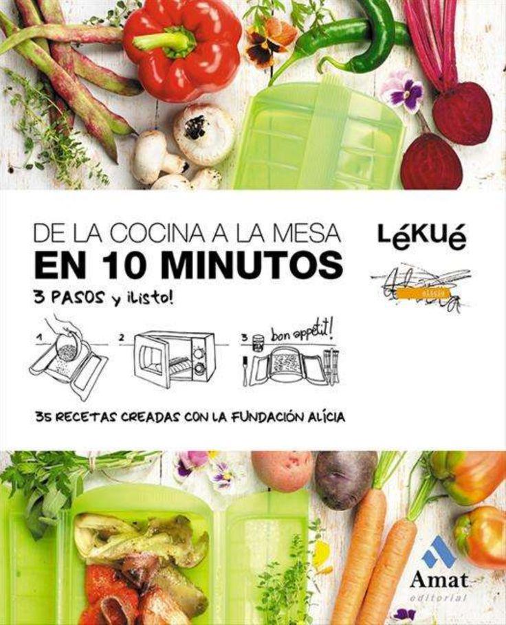 """Recetas para Lekue: """"De la cocina a la mesa en 10 minutos""""."""