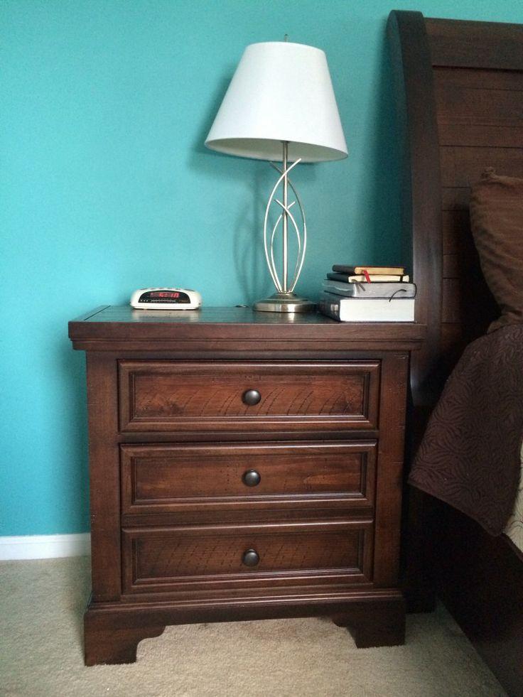 25+ Melhores Ideias De Mobília Do Quarto De Azul Cerceta No   Brown Bedroom  Furniture