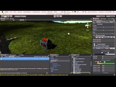 113. Unity3d Tutorial - Interacting With Game Objects Part 3 - YouTube