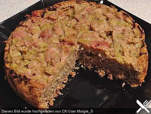 Rhabarberkuchen überkopf (Rezept mit Bild) von Jule-stodo | Chefkoch.de