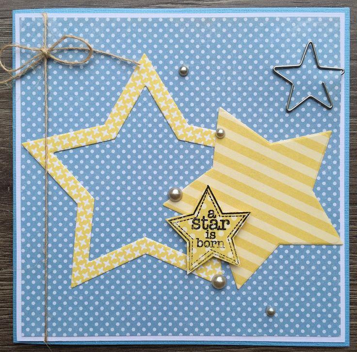 38 besten Kaart - sterren Bilder auf Pinterest | Weihnachtskarten ...