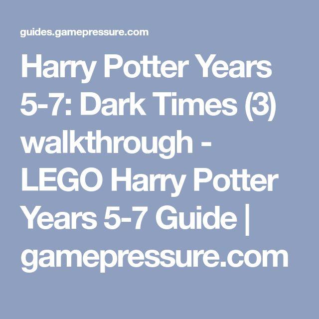 Harry Potter Years 5 7 Dark Times 3 Walkthrough Lego Harry Potter Years 5 7 Guide Gamepressure Com Harry Potter Years Lego Harry Potter Potter