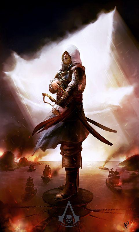 Assassin's Creed IV Black Flag by kclub.deviantart.com #AssassinsCreed