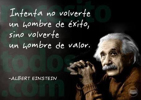 Wow!!! Frase sabia de hombre sabio...