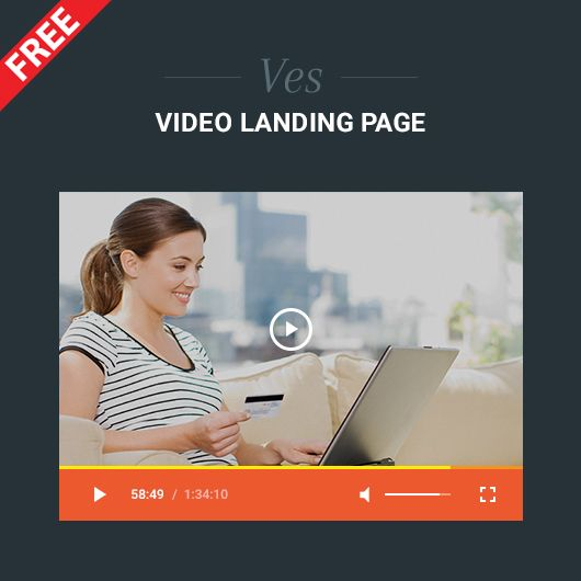 Have you used Video landing page yet? If not, Ves video landing page will be perfect for you. We offer you this extension for free
