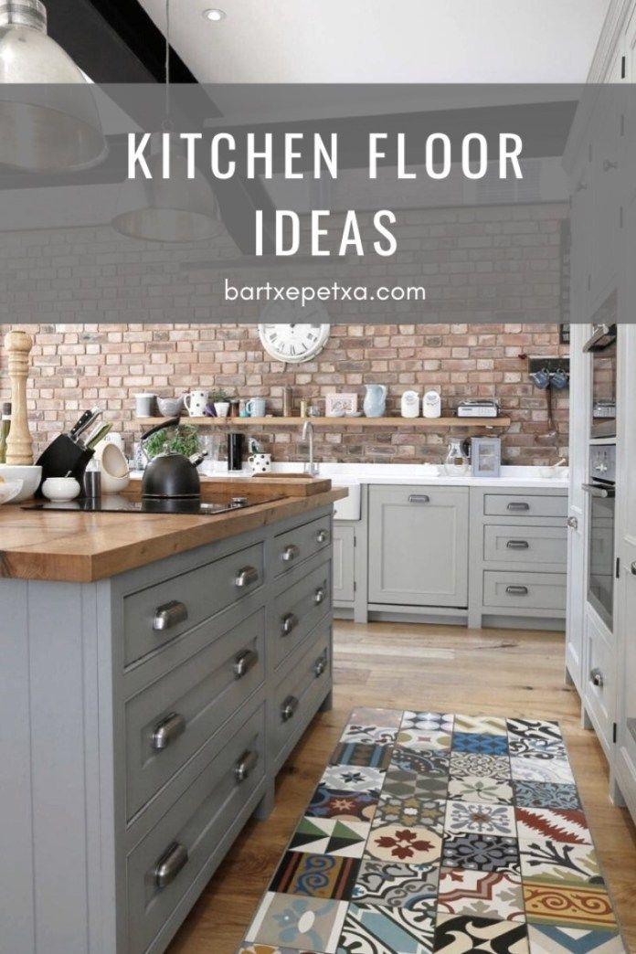 Kitchen Floor Ideas Wooden Floor Tile And Rustic Floor Ideas Bartxepetxa In 2020 Kitchen Flooring Rustic Flooring Kitchen Flooring Options