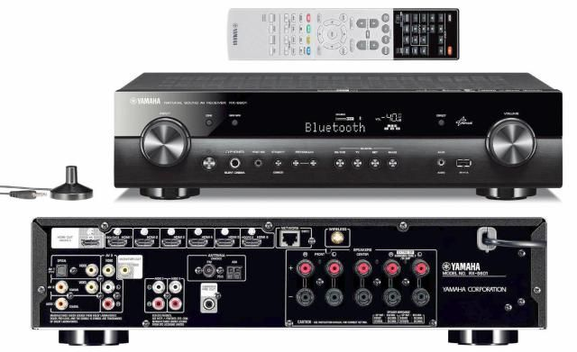 The Yamaha RX-S601 Slim-Profile Home Theater Receiver Profiled.: Yamaha RX-S601 Slimline Home Theater Receiver