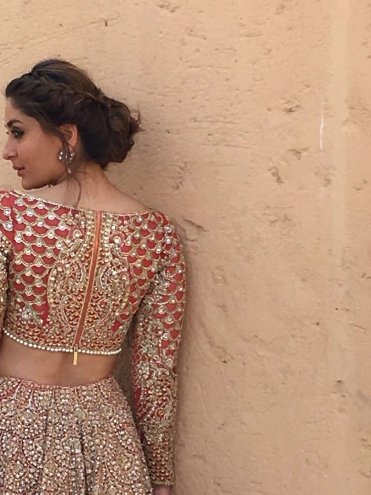 The actress was in the UAE to shoot for the Pakistani fashion brand Faraz Manan