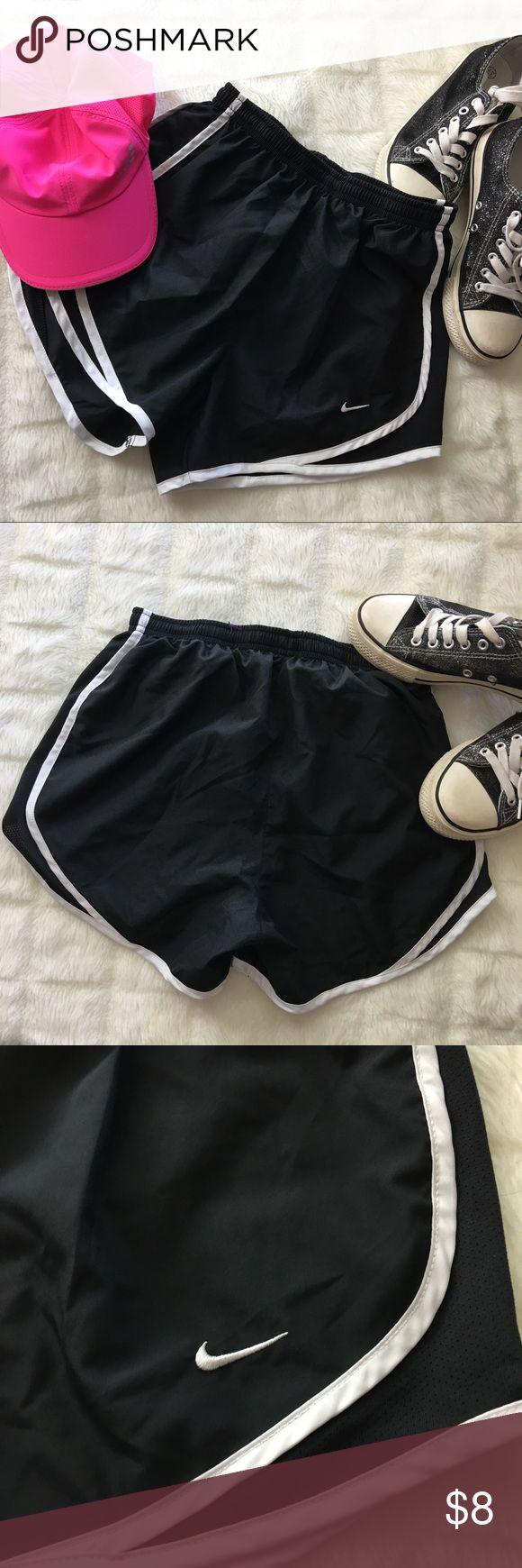 Nike Dri-Fit Shorts XS Black and white Nike shorts. Women's extra small. Nike Shorts