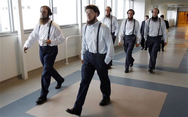 Amish beard cutters face possible prison terms as jury weighs clash of the clippers  A disagreement among America's Amish that led to a series of forced beard cuttings has ended with 16 members of the sect in court, some facing long prison terms