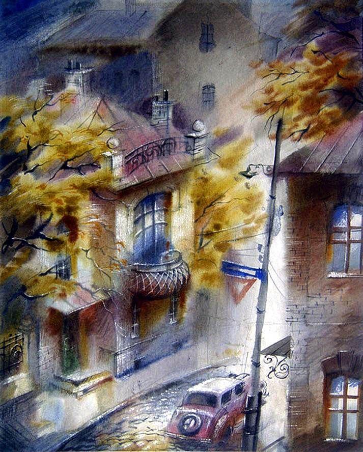 Виктор Зелик. Уютный переулок