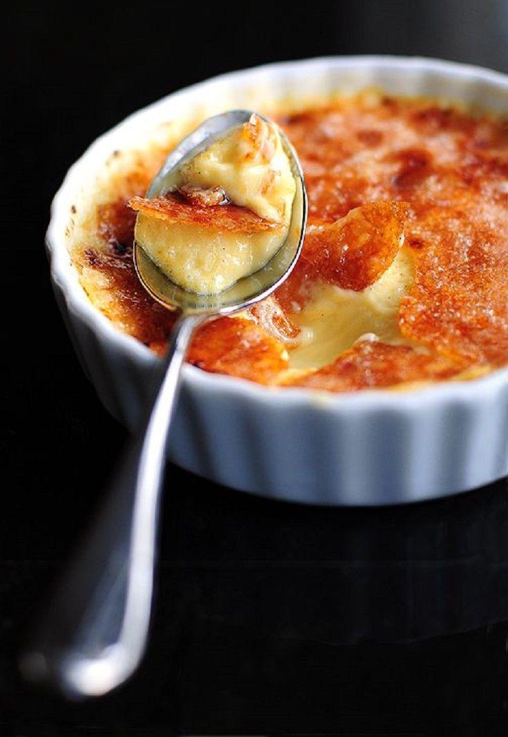 Cr?me Brulee Franse Keuken : Meyer Lemon Creme Brulee