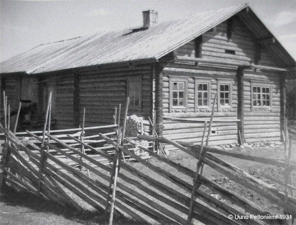 Традиционными для Карелии были изгороди из косых и горизонтальных жердей