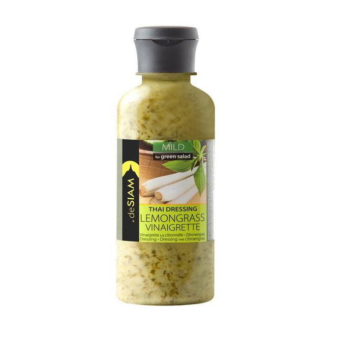 Delicioso aliño de hierba limón con albahaca dulce thai. Es ideal para ensaladas, tartars y pasta. #salsasgourmet