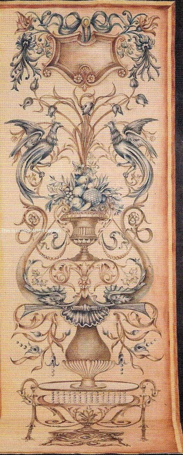 ~ Lovely Aubusson Tapestry ~