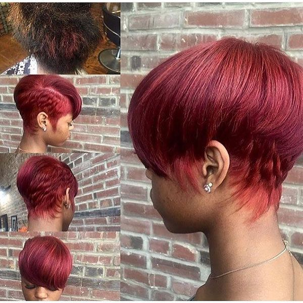 65 Best Short Hairstyles For Black Women In 2019 Hair Styles Short Red Hair Cute Hairstyles For Short Hair