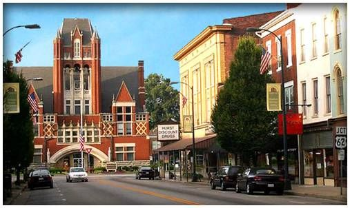 North Third Street Bardstown Ky Voted Most Beautiful