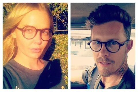 Lara Bingle and Max May rocking our Harper frames. Looking good!