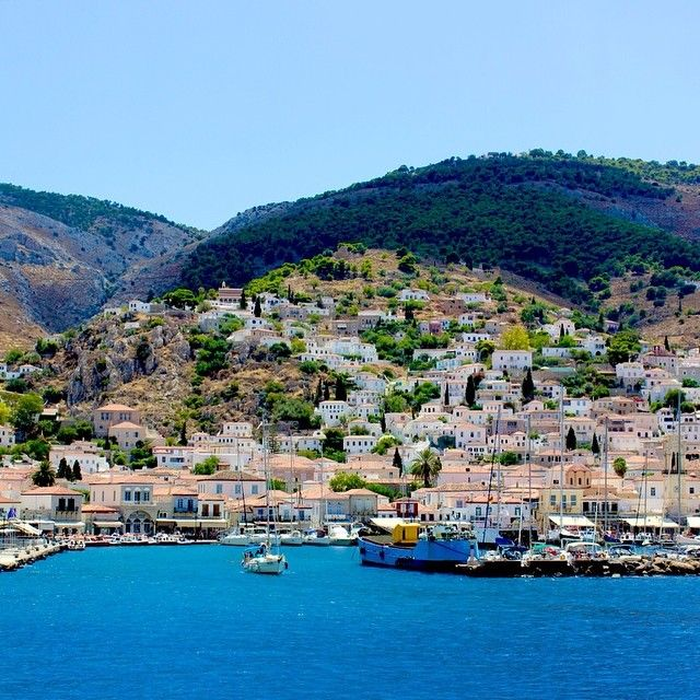 Hydra Island in #Greece. Photo courtesy of elgrecogrande on instagram