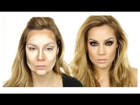 Beyoncé Inspired MakeUp Tutorial / Evening MakeUp / Photo Shoot MakeUp - YouTube