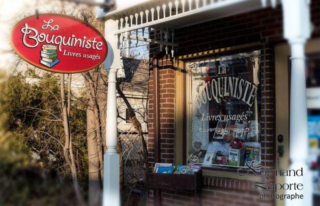Un endroit de RÊVE pour les amoureux des livres dans le Vieux-Terrebonne!