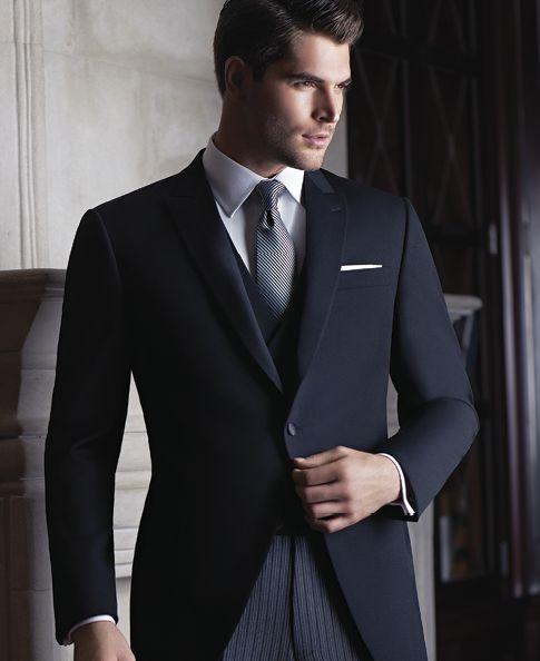Collins Formal Wear - Modern Cutaway by Ike Behar  http://www.collinsformalwear.com/catalogue.html