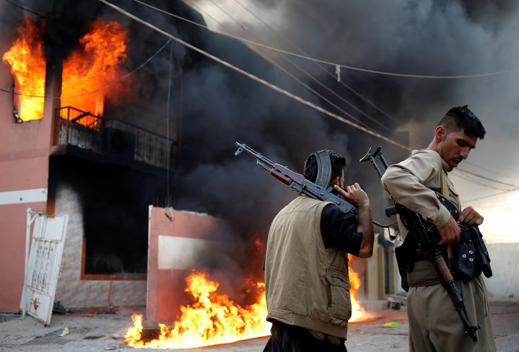 With ISIS on the run, new wars could erupt in Iraq..